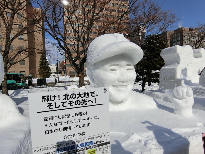 さっぽろ雪まつり 2018 清宮